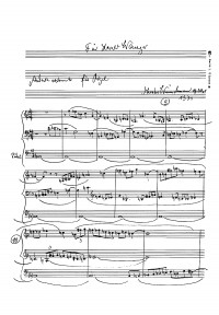 Wünschmann: Sechs leichte Stücke für die Orgel (Op.35)