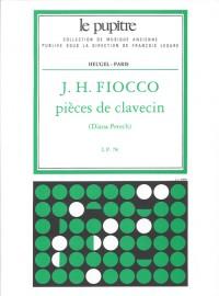 Fiocco: Pièces De Clavecin Edition Critique De D. Petech.(Lp 78)