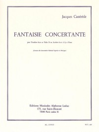 Jacques Castérède: Fantaisie Concertante (Tuba or Bass Trombone/Piano)