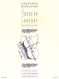 François Couperin: Pièces En Concert (Cello/Piano)