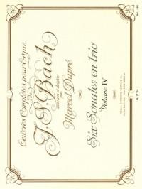 J.S. Bach: Complete Organ Works Volume 4: Six Trio Sonatas