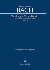 Bach, JS: Christ lag in Todes Banden (BWV 4&#x3B; e-Moll)