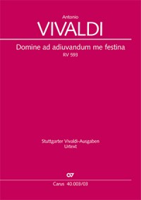 Vivaldi: Domine ad adiuvandum me festina (RV 593)