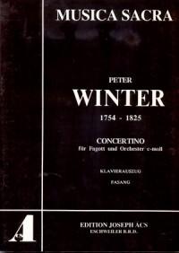 Winter: Concertino (c-Moll)