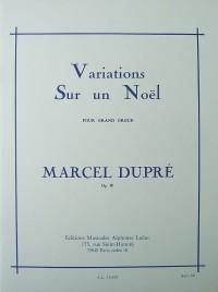Marcel Dupré: Variations Sur Un Noël For Organ