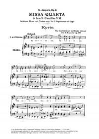 Jaspers: Missa quarta in hon. St. Caeciliae (G-Dur)
