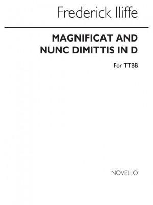 Barrie Illiffe: Iliffe Magnificat And Nunc Dimittis Ttbb