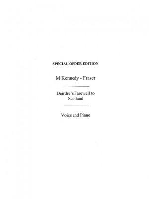 Marjory Kennedy-Fraser: Deidre's Farewell To Scotland