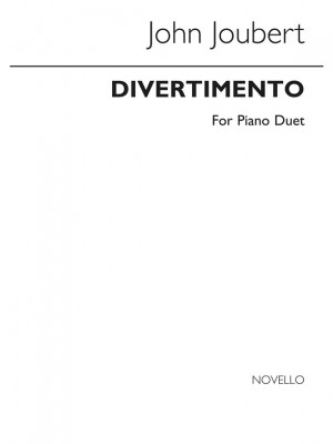 John Joubert: Divertimento Op.2 Piano Duet Product Image