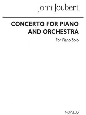 Joubert: Concerto For Piano & Orchestra (with Piano Reduction)