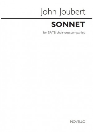 John Joubert: Sonnet (Vocal Score)