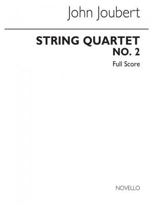 Joubert: String Quartet No.2 Op.91 (Score)