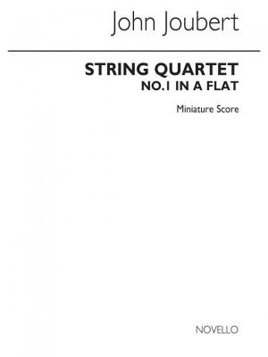 Joubert: String Quartet No.1 In A Flat (Miniature Score)