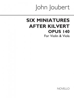 Joubert: Six Miniatures After Kilvert Op.140 (Violin and Viola Parts)