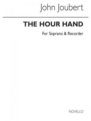 John Joubert: Hour Hand For Soprano And Recorder (Score)
