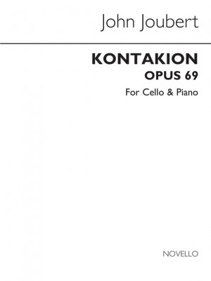 Joubert: Kontakion for Cello and Piano
