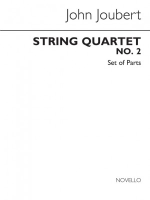 John Joubert: String Quartet No.2 Op.91 (Parts)