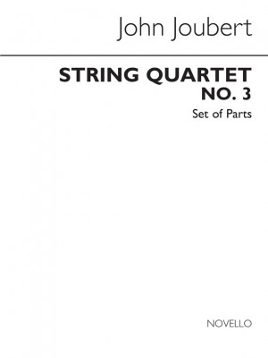 John Joubert: String Quartet No.3 Op.112 (Parts)