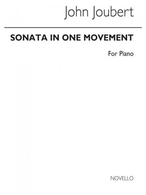 John Joubert: Sonata In One Movement For Piano Product Image