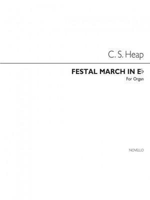 C. Swinnerton Heap: Festal March In E Flat Organ