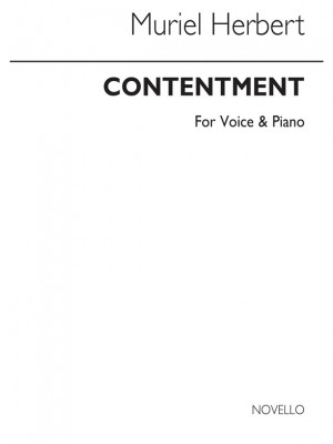 M. Herbert: M Contentment Low Voice And Piano (F Major) Product Image