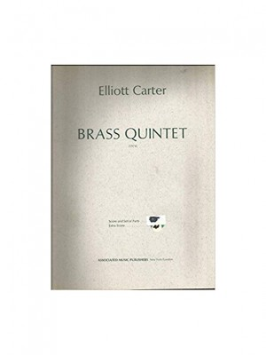 Elliott Carter: Brass Quintet (Score/Parts)