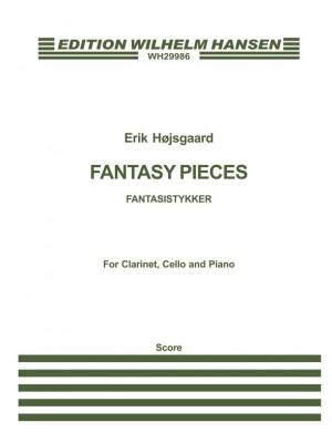 Erik Hojsgaard: Fantasy Pieces Clt/Vlc/Pf Sc Product Image