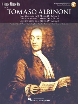 Music Minus One - Tomaso Albinoni: Oboe Concerti B-flat Op.7 No.3&#x3B; D Op.7 No.6&#x3B; D Minor Op.9 No.2