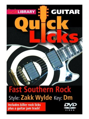 Fast guitar lick very