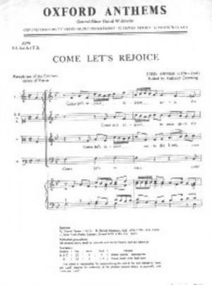 Amner: Come let's rejoice