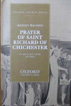 Baldwin: Prayer of Saint Richard of Chichester