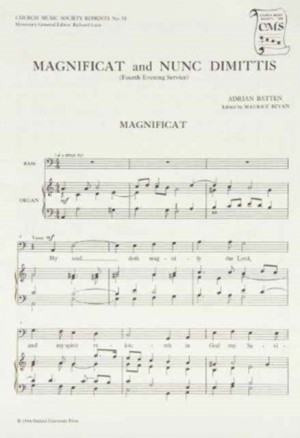 Batten: Magnificat and Nunc Dimittis from the Fourth Service