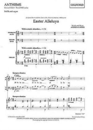 Carter: Easter Alleluya