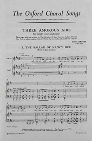 Gardner: The Ballad of Nancy Dee