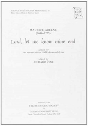 Greene: Lord, let me know mine end