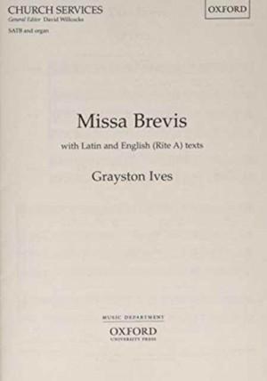 Ives: Missa Brevis