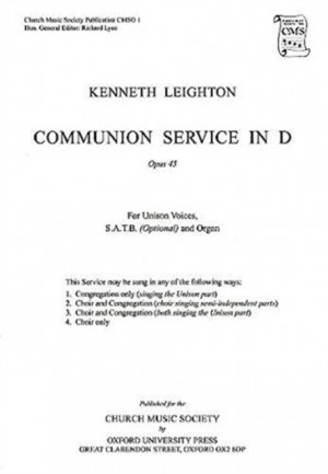 Leighton: Communion Service in D Op. 45