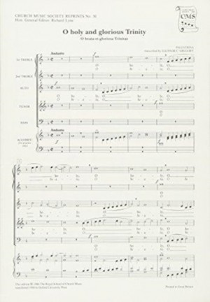 Palestrina: O holy and glorious Trinity (O beata et gloriosa Trinitas)