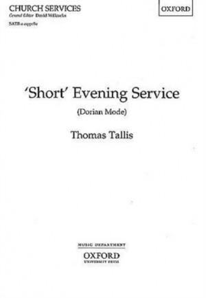 Tallis: Short Evening Service