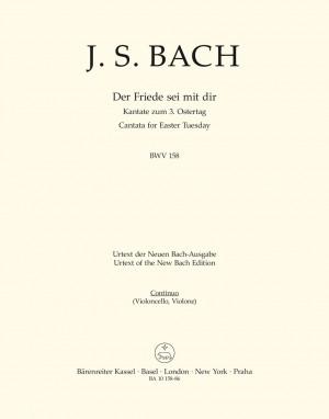 Bach, JS: Cantata No. 158: Der Friede sei mit dir (BWV 158) (Urtext)
