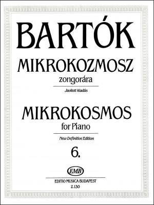 Mikrokosmos 6 (piano)