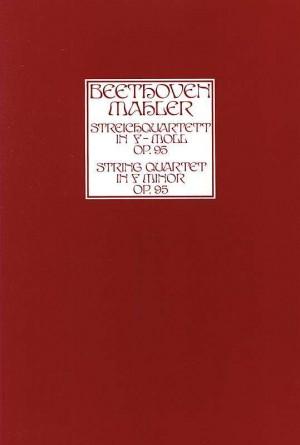 Beethoven, arr. Mahler: String Quartet Op.95 in F minor (score)