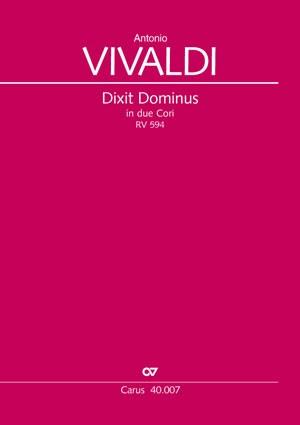 Vivaldi: Dixit Dominus RV594