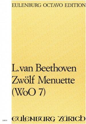 Beethoven, Ludwig van: 12 Menuette  WoO 7