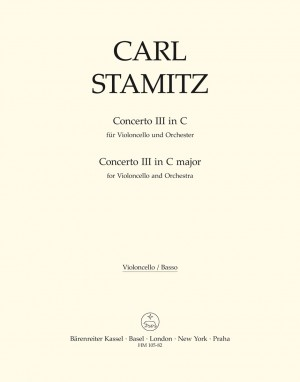 Stamitz, C: Concerto for Cello No.3 in C