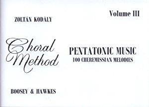 Kodaly, Z: Pentatonic Music Vol. 3