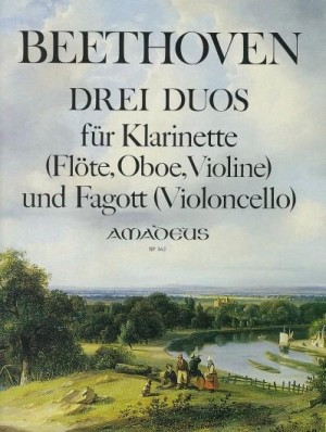 Beethoven, L v: 3 Duos WoO 27