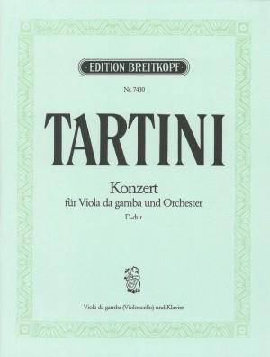 Tartini, G: Viola da gamba Concerto in D major