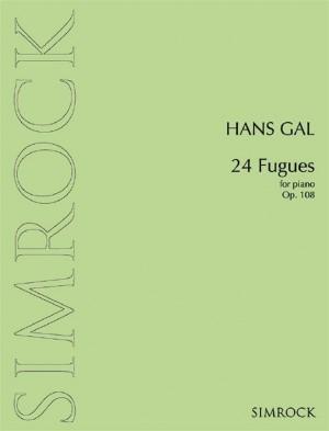 Gál, H: 24 Fugues op. 108