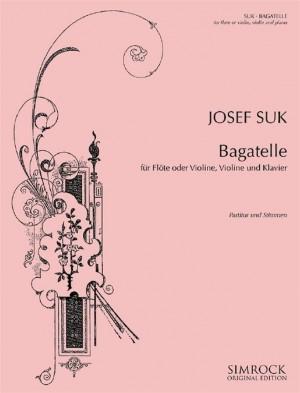 Suk, J: Bagatelle in F major